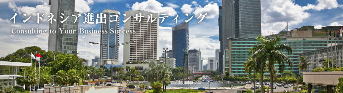 インドネシア進出コンサルティング Supporting  for Your Business Success in Indonesia